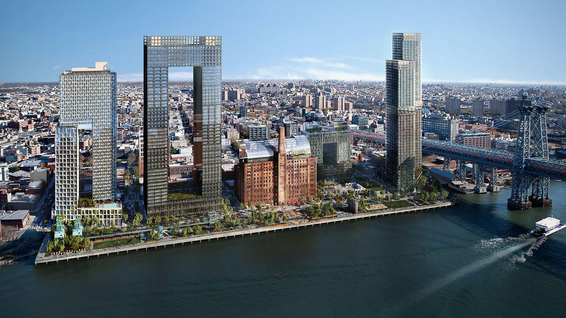 Nueva York se prepara para inaugurar su nuevo parque: Domino Park