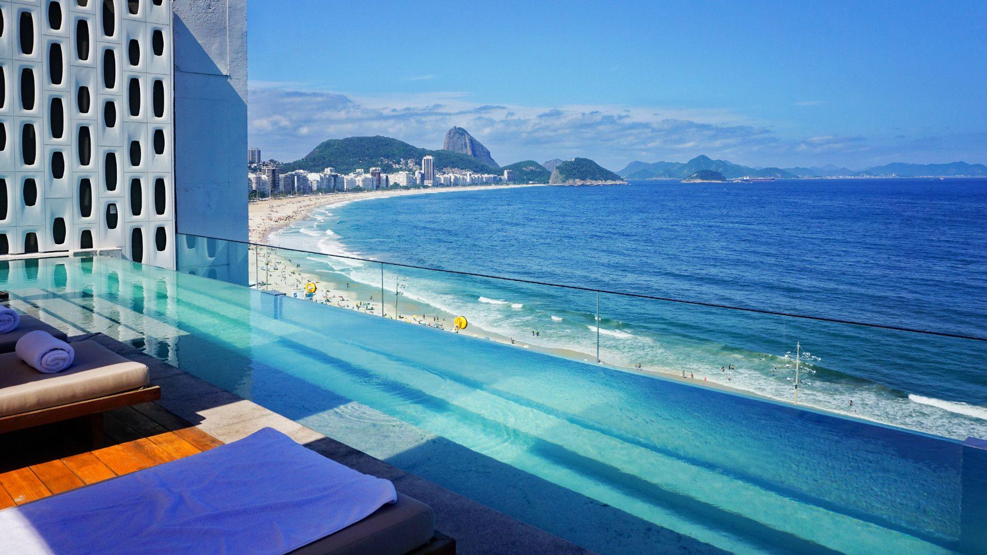 REVIEW Emiliano Rio: diseño, tecnología y la piscina infinita más espectacular de Río de Janeiro