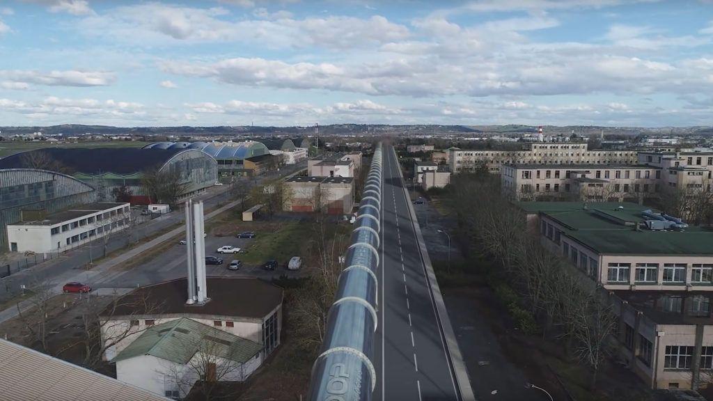 Construyen el primer Hyperloop en Europa