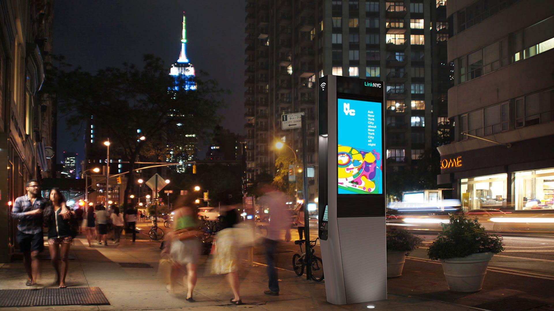 ¿Tomando bus en Nueva York? Las pantallas nos darán toda la información