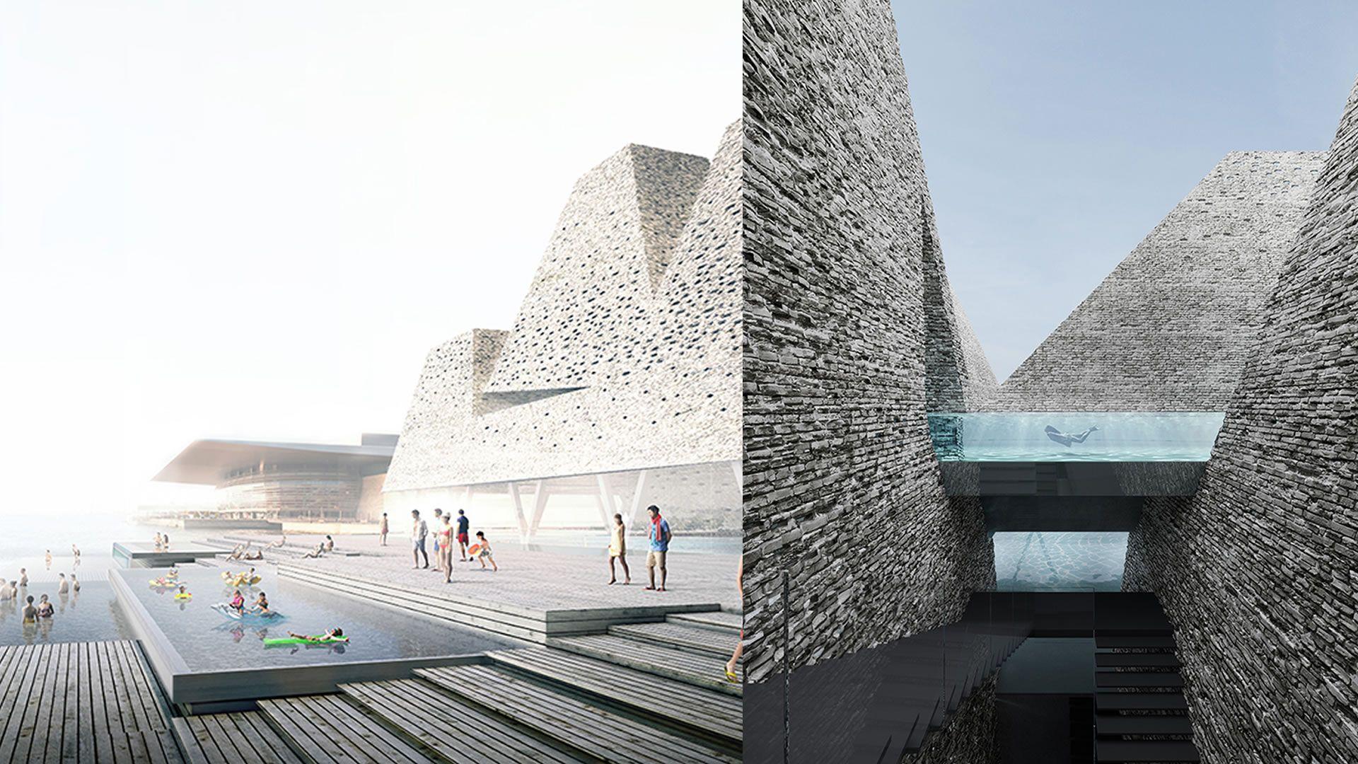 La espectacular piscina pública que construirán en Copenhague