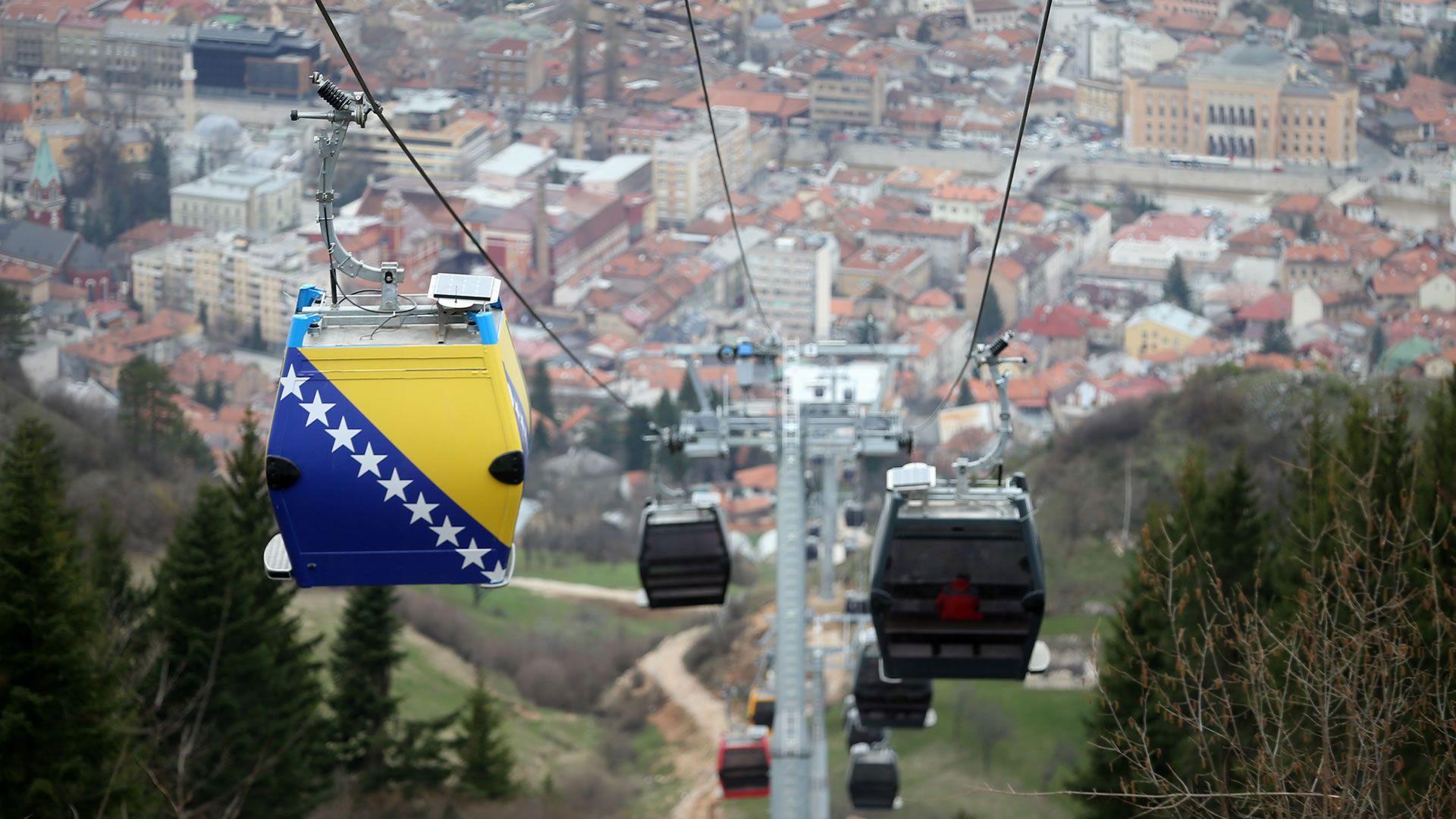El teleférico de Sarajevo reabre luego de más de dos décadas