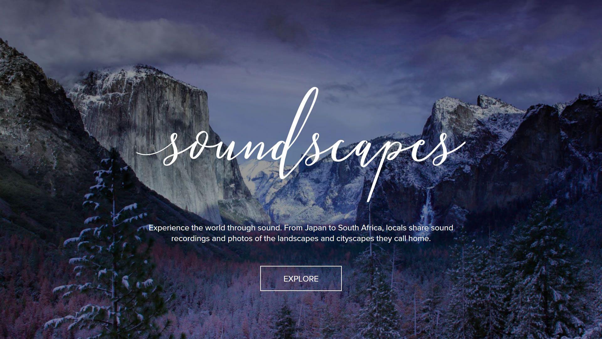 Podemos viajar por el mundo a través de los sonidos desde nuestra casa