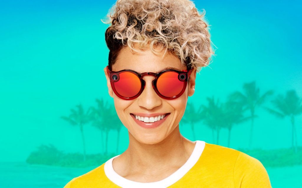 Snapchat presentó a sus nuevos Spectacles 2