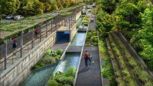 Así es el nuevo parque San Pedro Creek Culture Park, el High Line Latino