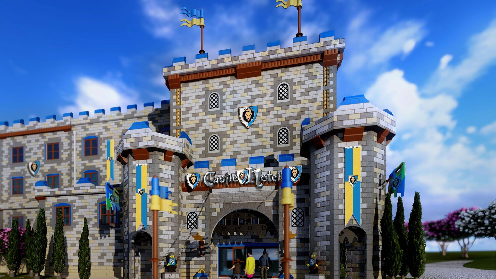 Este es el nuevo hotel de Legoland: video