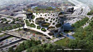 Así serán los futuristas skyports (aeropuertos) de Uber: imágenes