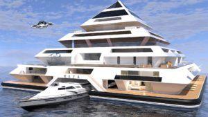 Las pirámides flotantes quieren ser el futuro