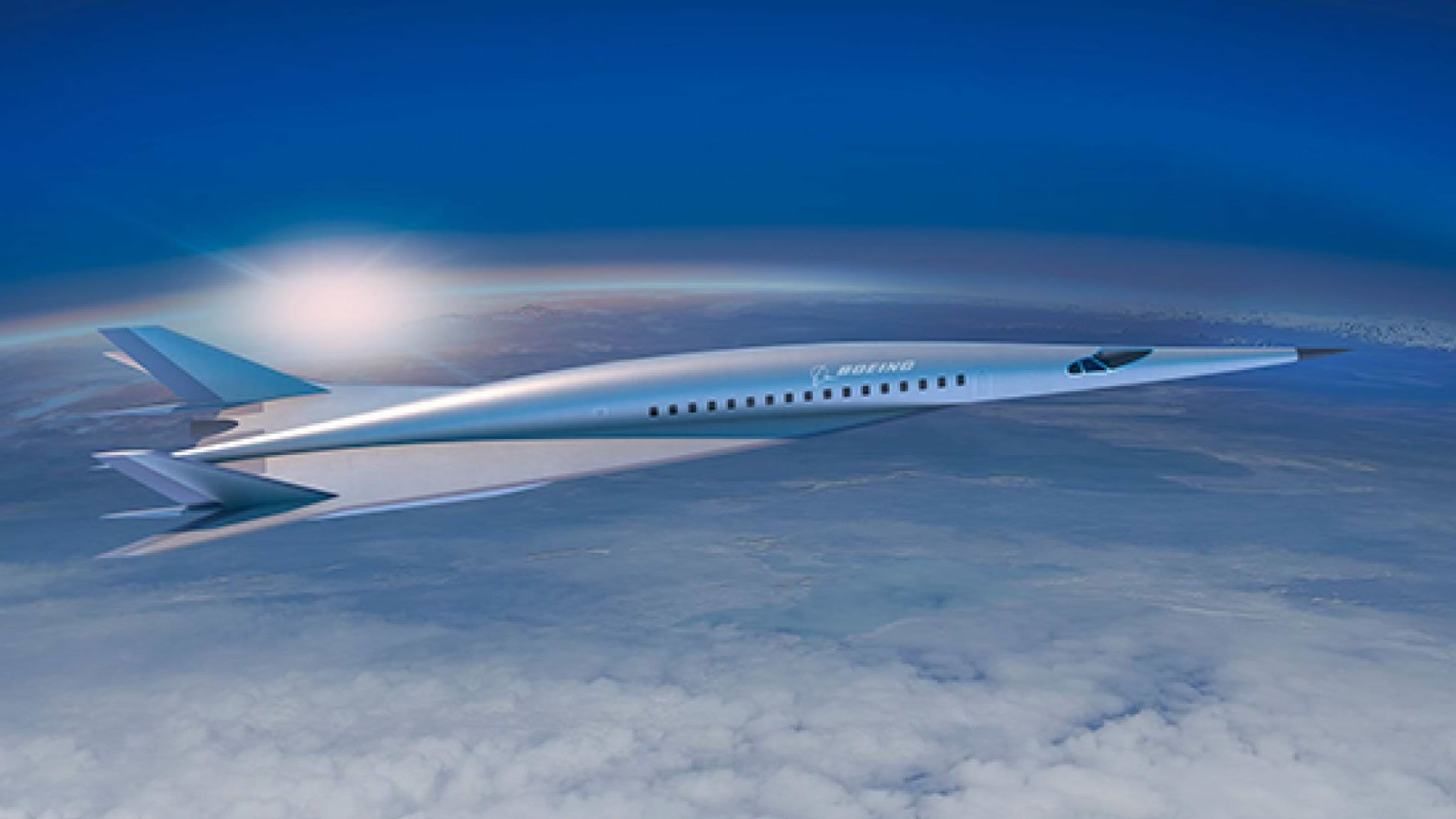 Boeing muestra como será su avión hipersónico