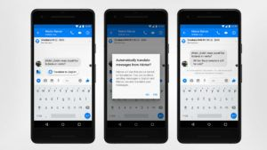 Facebook Messenger ahora traduce de español a inglés