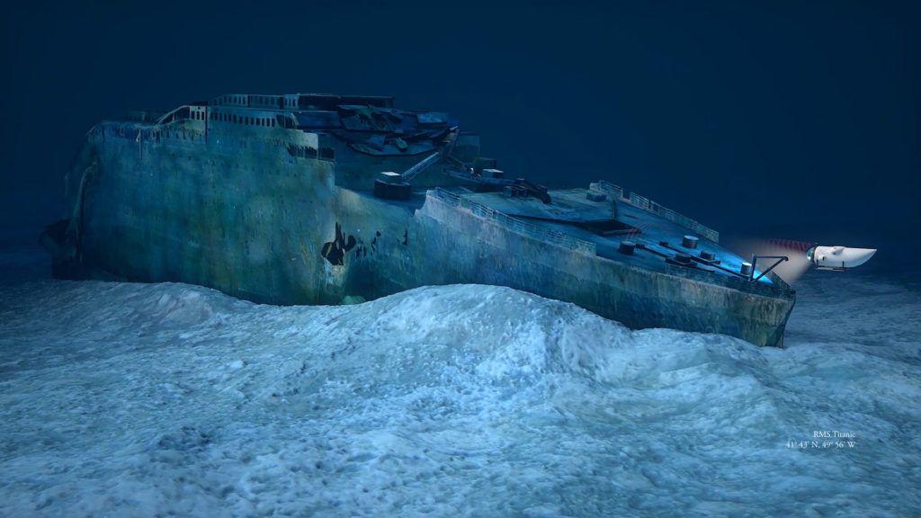 Una empresa ofrece viajes al Titanic en la profundidad del océano