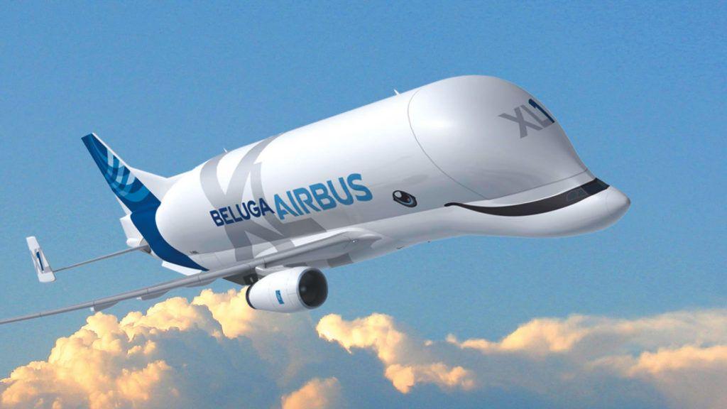 En vivo, Airbus transmite el primer vuelo del impresionante BelugaXL
