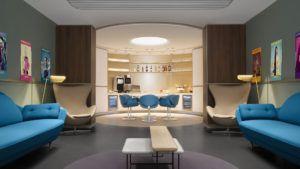Así es el nuevo business lounge de Air France en París