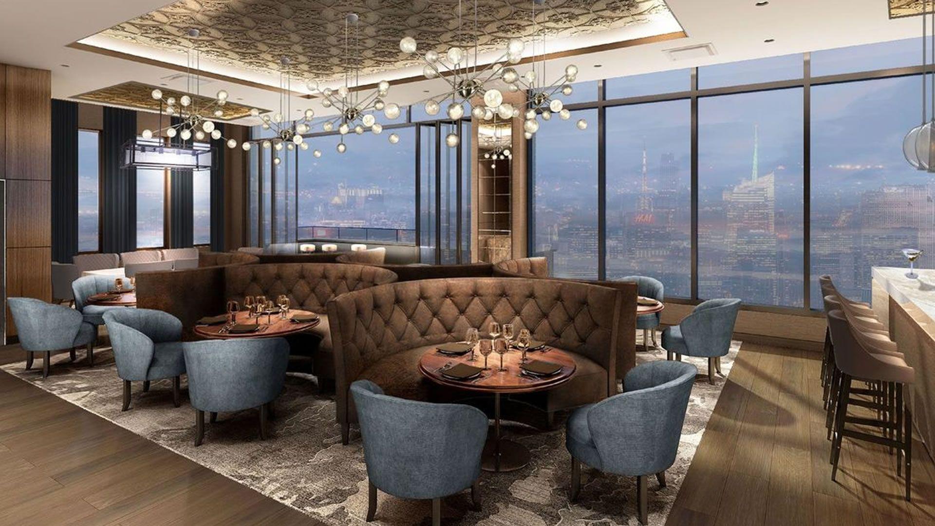 El bar abierto más alto de Nueva York se prepara para inaugurar