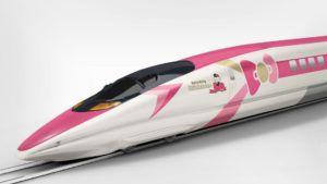 El tren de Hello Kitty ya es una realidad en Japón