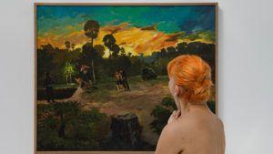 Un museo para visitar desnudo