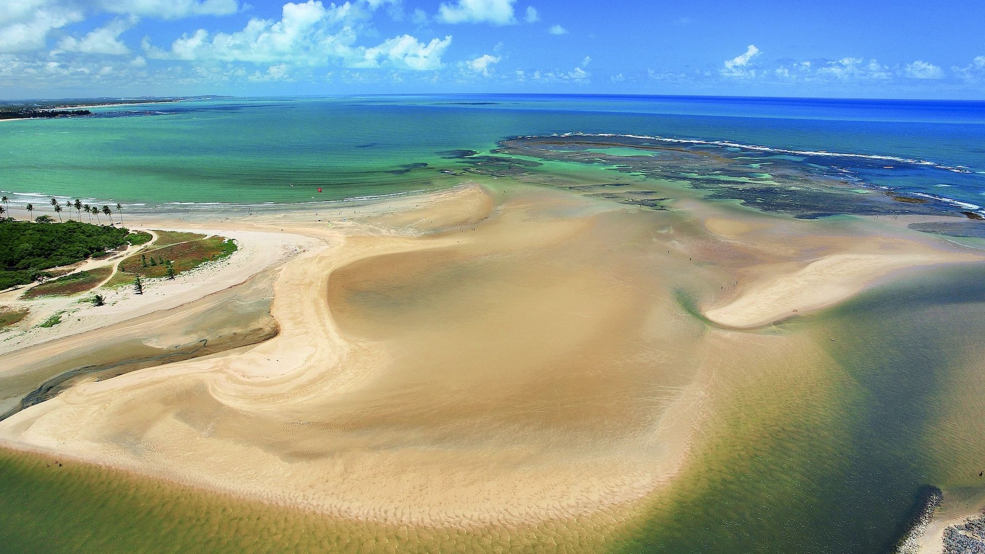 Porto de Galinhas elegida como la mejor playa del nordeste de Brasil