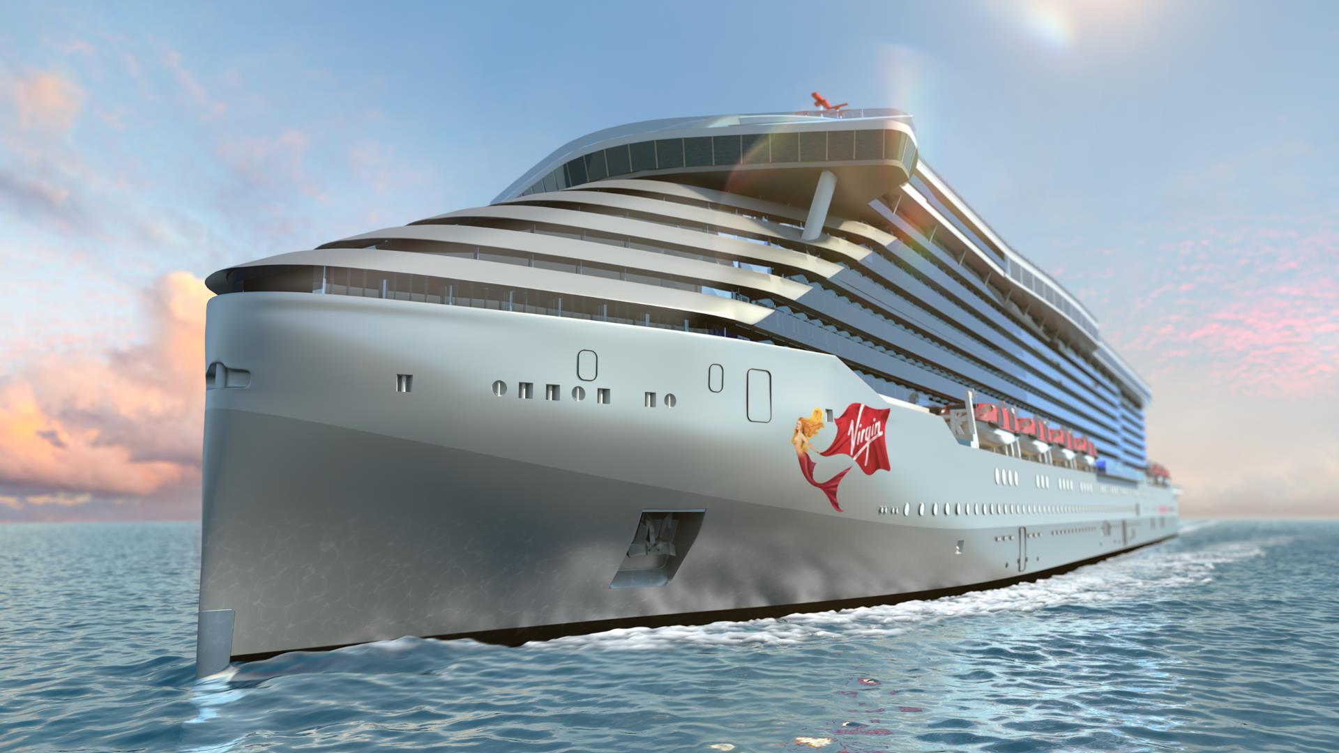 Así será el espectacular primer crucero de Virgin
