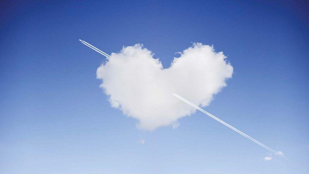 1 de cada 50 viajeros encuentra el amor de su vida en un avión