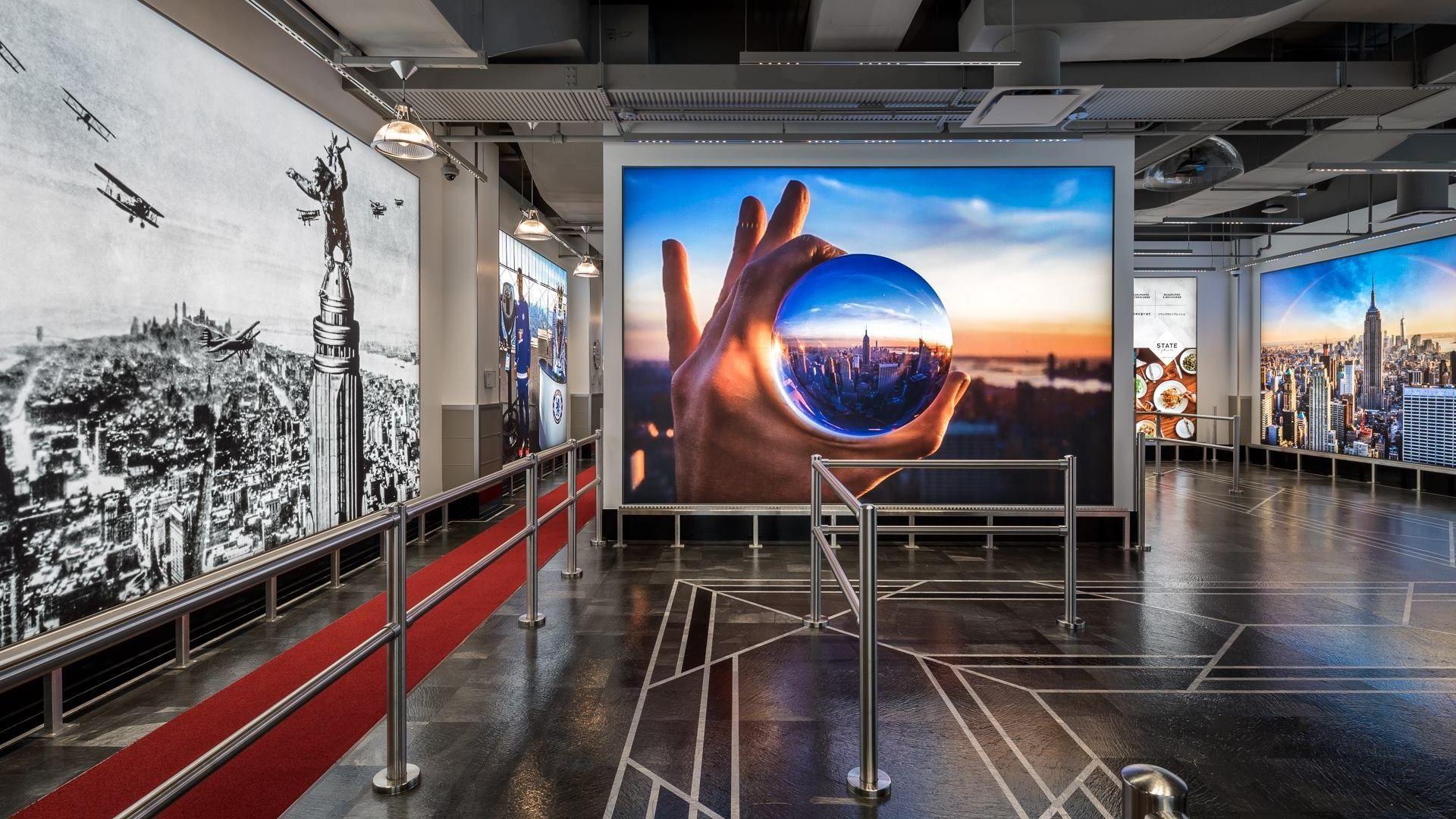 El Empire State renovó su entrada al icónico observatorio de New York