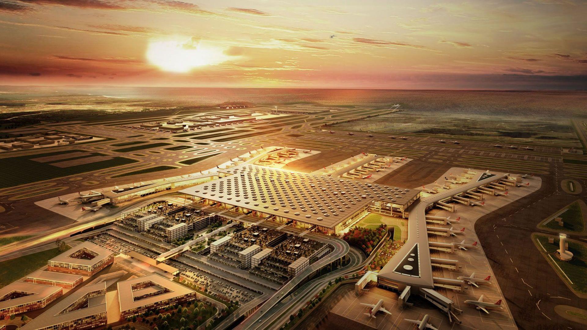 El nuevo aeropuerto de Estambul está a punto de inaugurar y será el de mayor capacidad del mundo