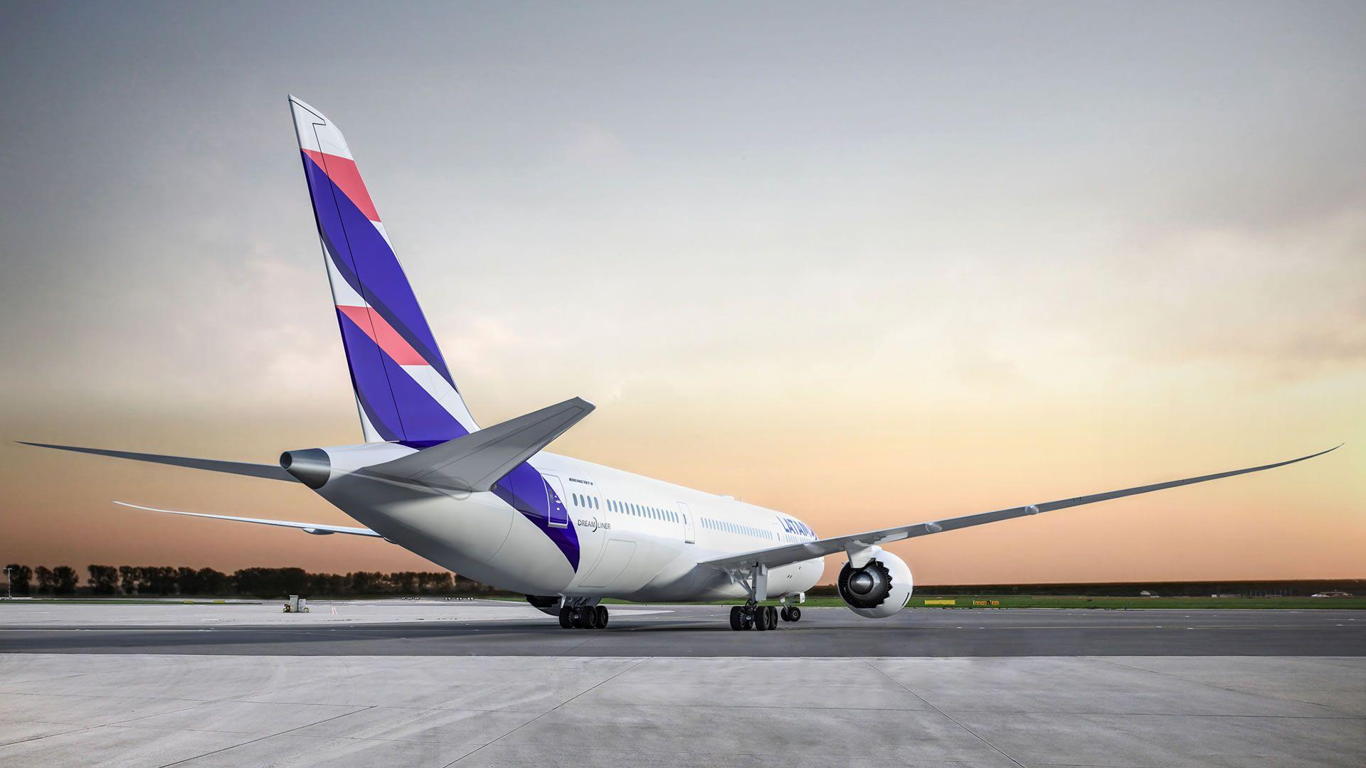 La aerolínea LATAM renueva sus aviones y sumará Wi-Fi a bordo