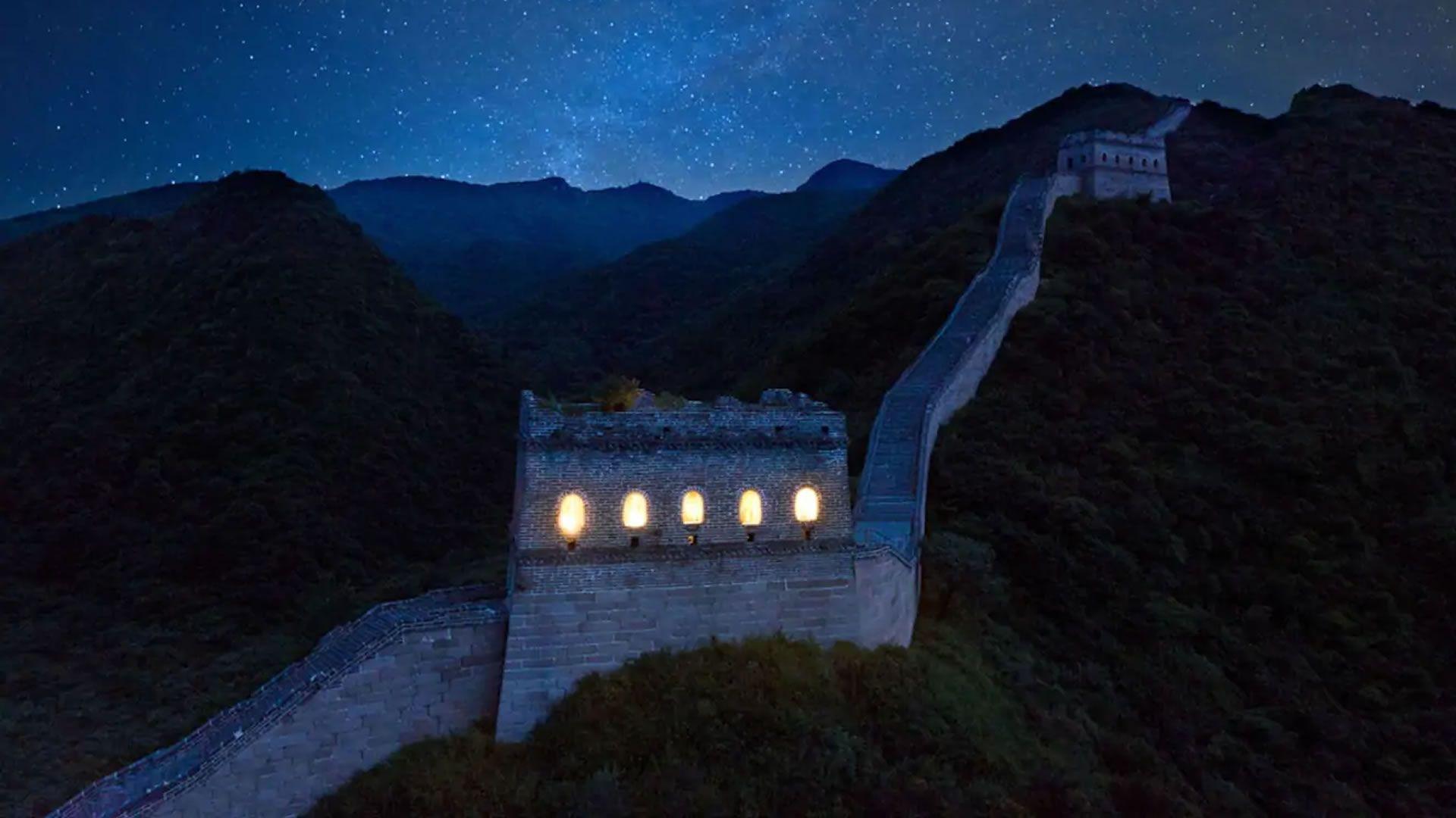 Podemos dormir en la Gran Muralla China por única vez. ¿Cómo participar?
