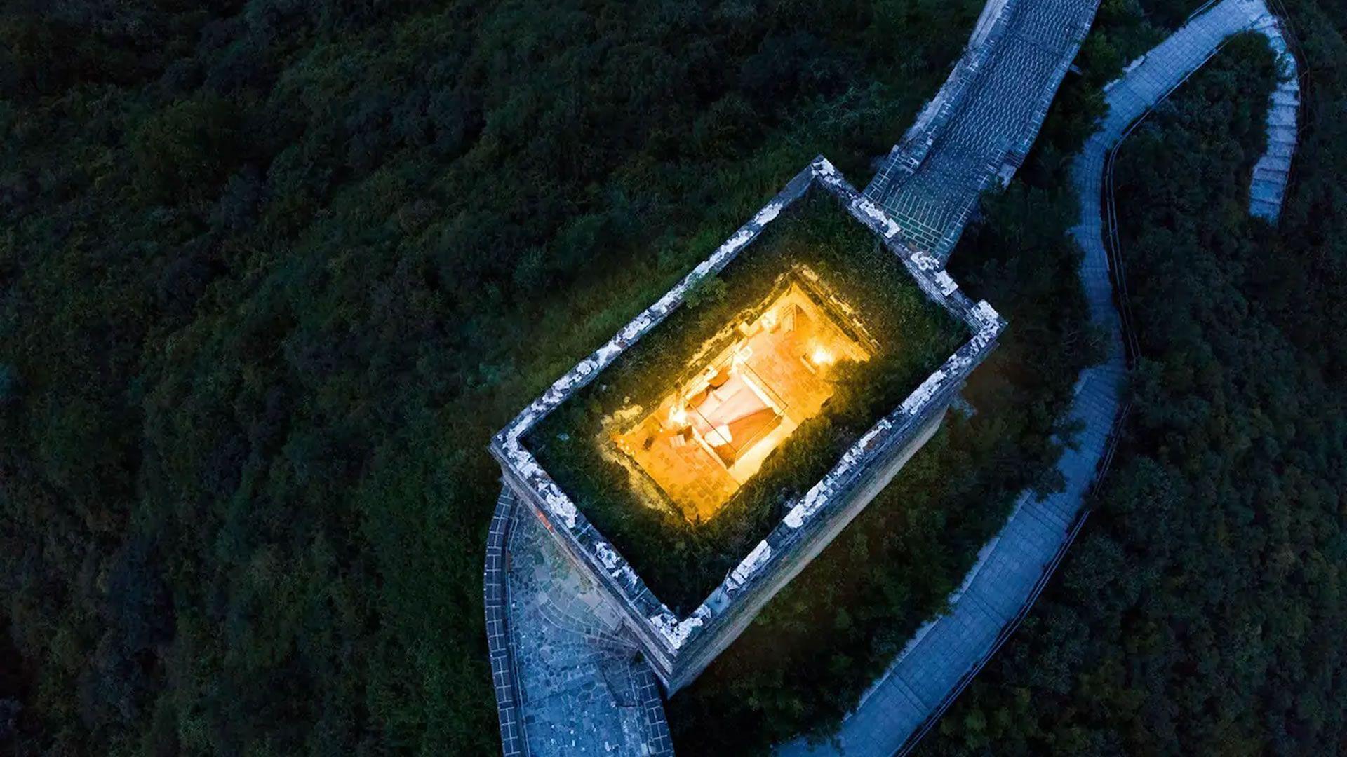 Cancelan el concurso para dormir en la Gran Muralla China