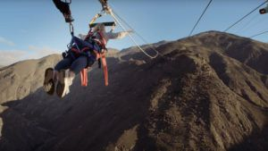 VIDEO La catapulta humana más impresionante del mundo está en Nueva Zelanda
