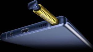 Samsung presentó el nuevo Galaxy Note9: pura potencia