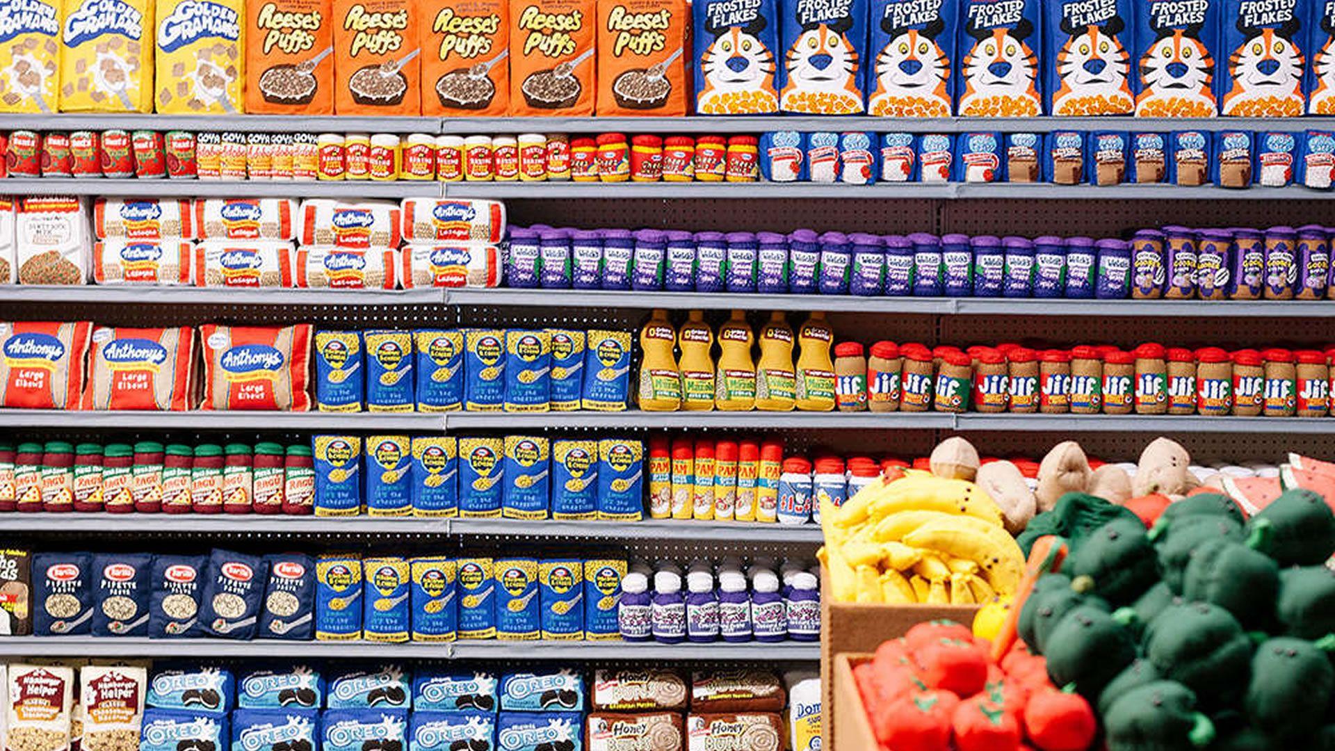 inauguran un supermercado en los Ángeles donde nada es comestible