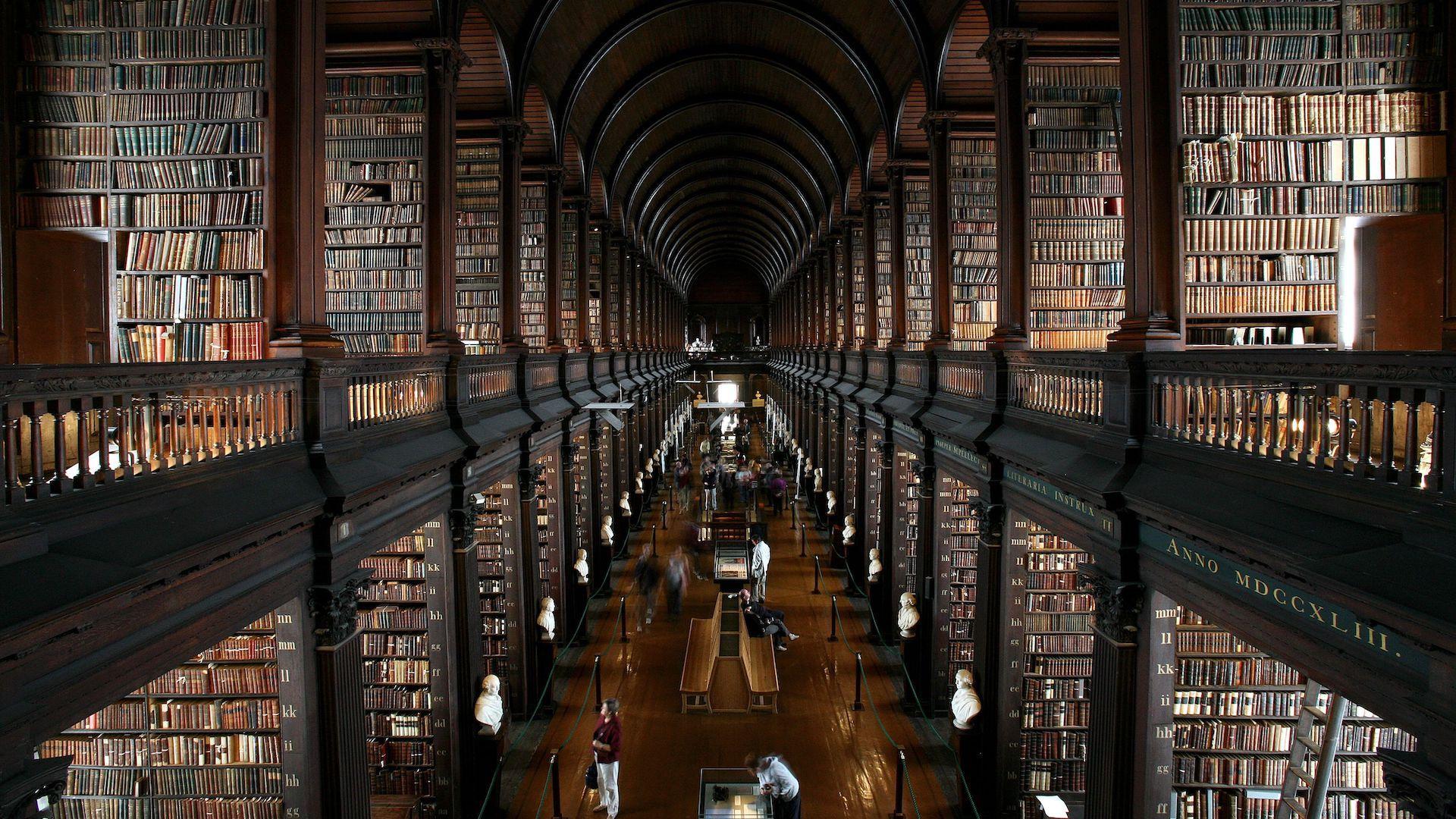 Estas Son Algunas De Las Bibliotecas Más Impresionantes Del