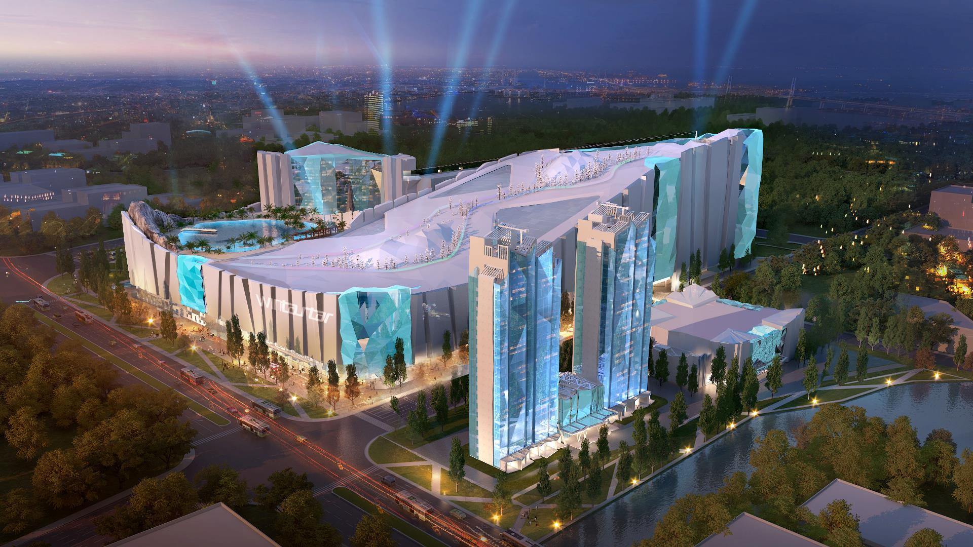 La pista de esquí cubierta más grande del mundo tendrá un hotel de hielo