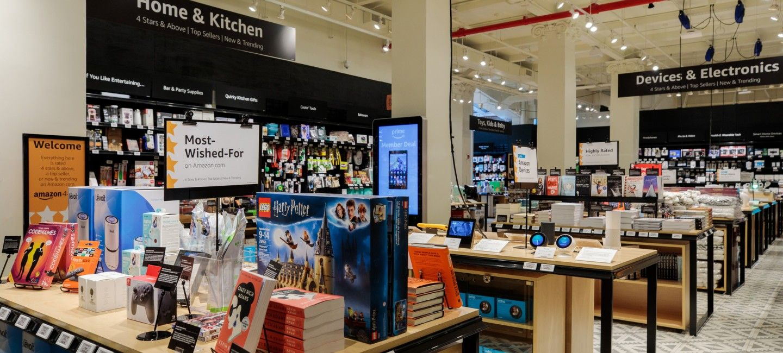 Amazon abrió 4-star, la tienda ideal para comprar en Nueva York