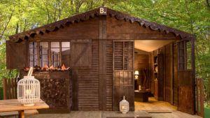 La casa íntegramente hecha de chocolate está disponible para alquilar