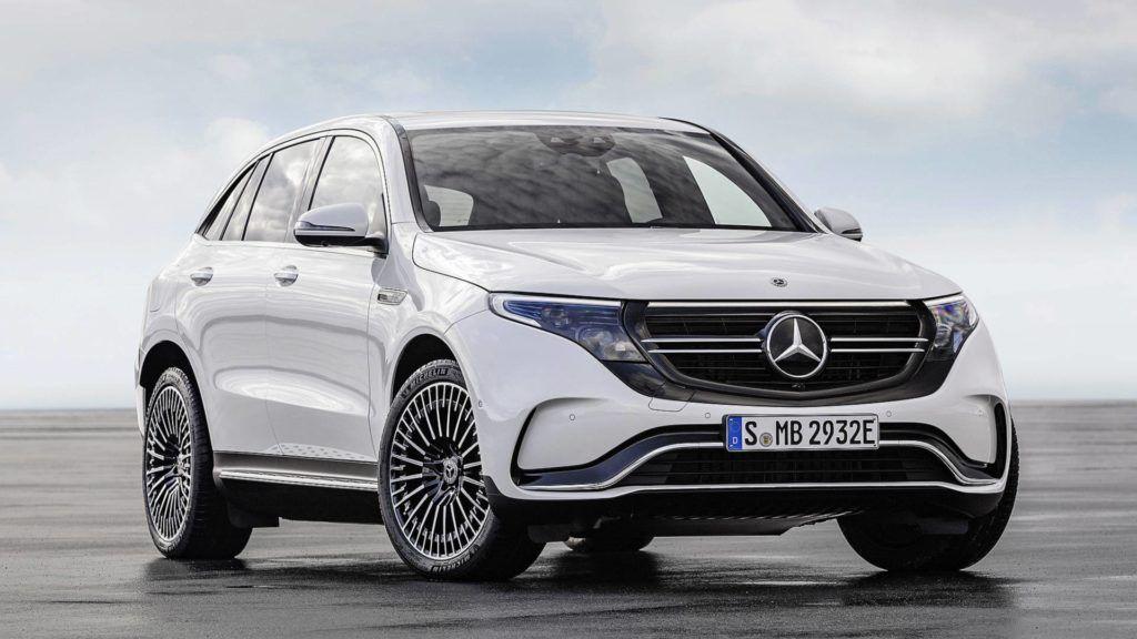Mercedes-Benz presentó EQC, su primera SUV eléctrica