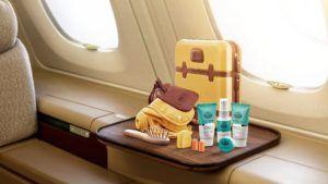 Las aerolíneas con los kits de amenidades más lujosos