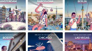 Touring Bird: el sitio de Google que nos dice qué hacer en 20 ciudades