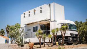 Truck Surf Hotel: un hotel rodante que es toda una experiencia