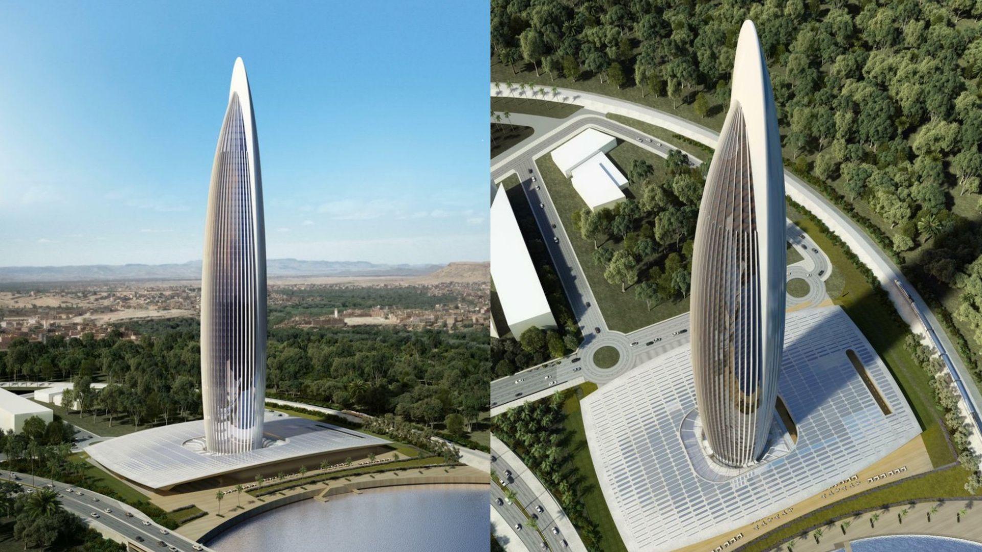 Así será la torre más alta de África: tendrá un hotel de lujo y observatorio