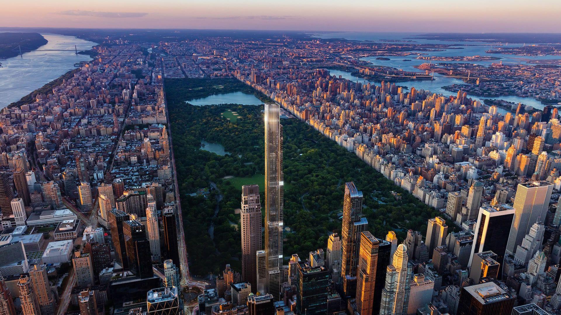 Central Park Tower será la torre residencial más alta del mundo