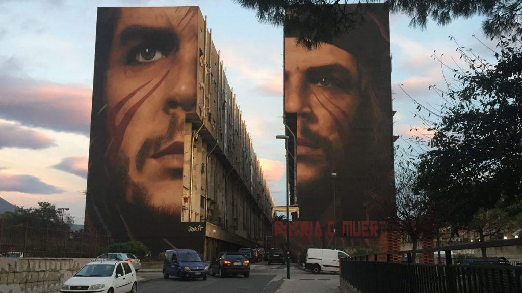 El mural más grande del mundo del Che Guevara ya no está en Cuba