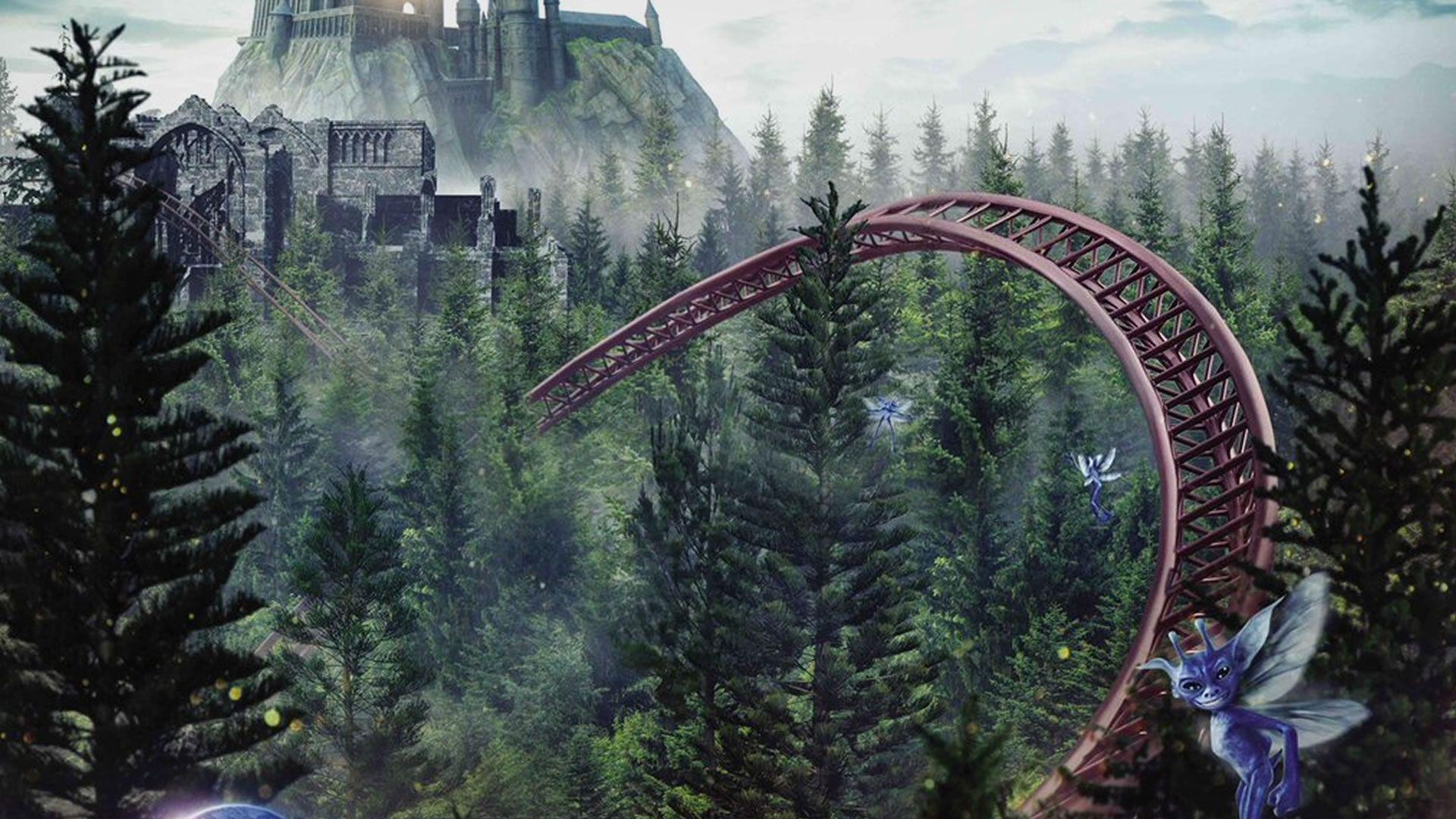 El primer adelanto de la montaña rusa de Harry Potter en Universal Orlando