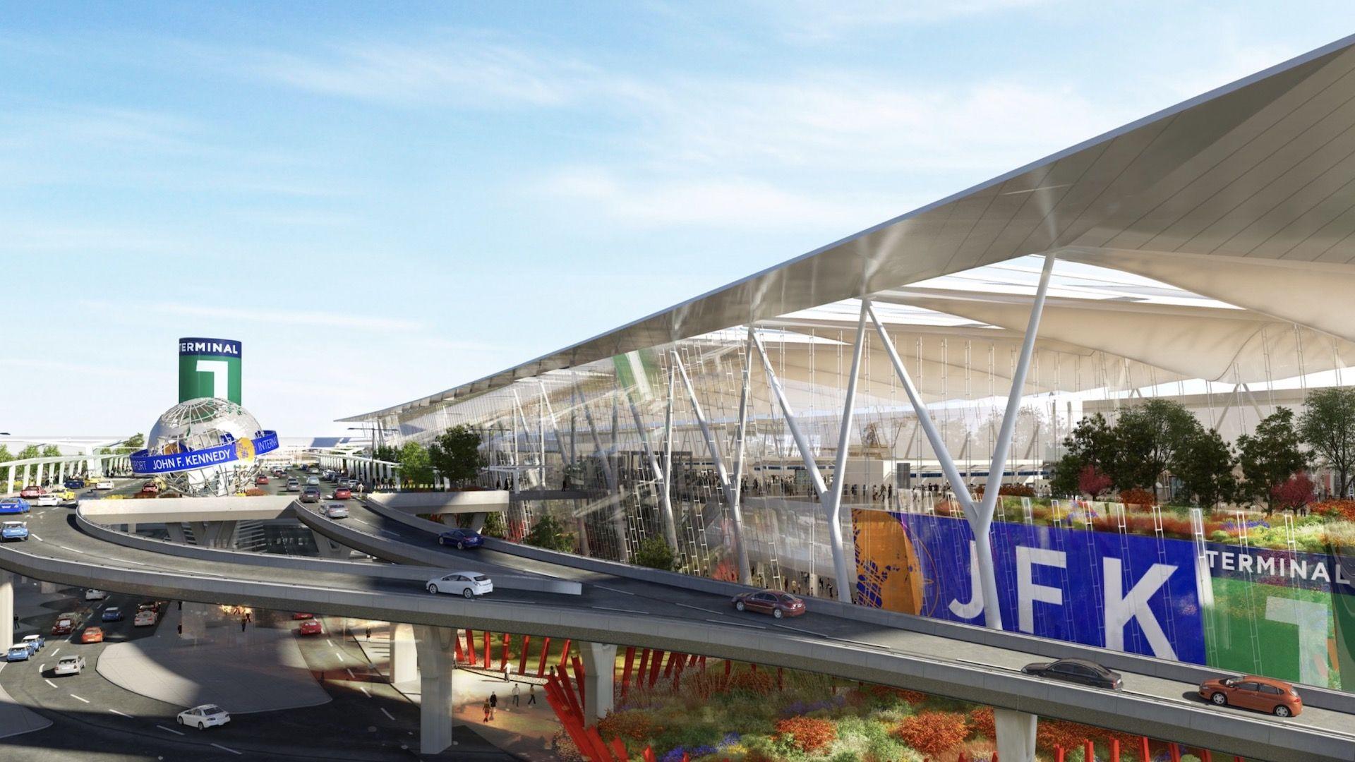 Así quedará el renovado aeropuerto JFK en Nueva York: imágenes