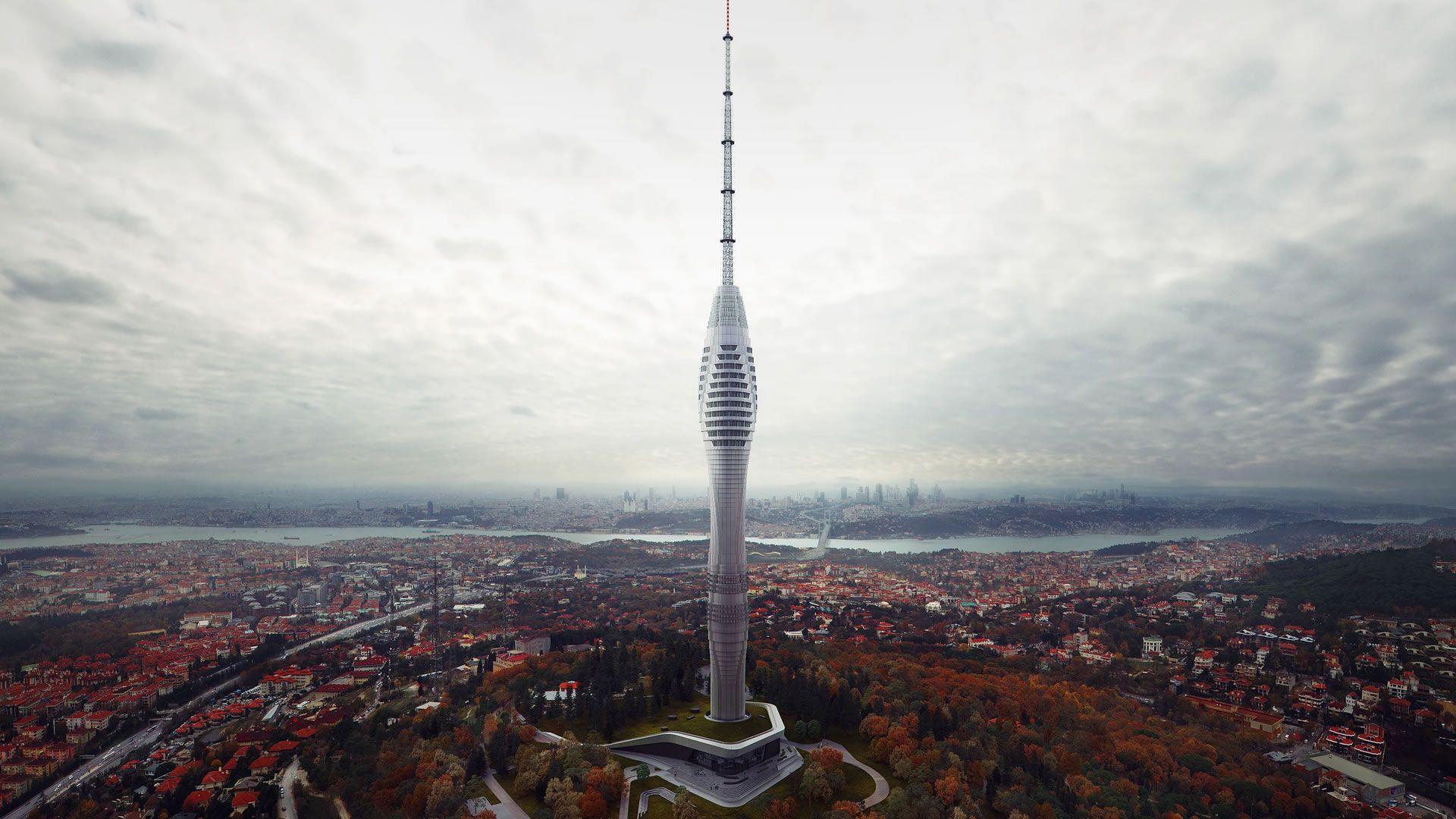 La sorprende torre de Estambul tendrá vistas a los 2 continentes