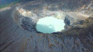 El volcán Poás en Costa Rica abrió nuevamente sus puertas a los turistas