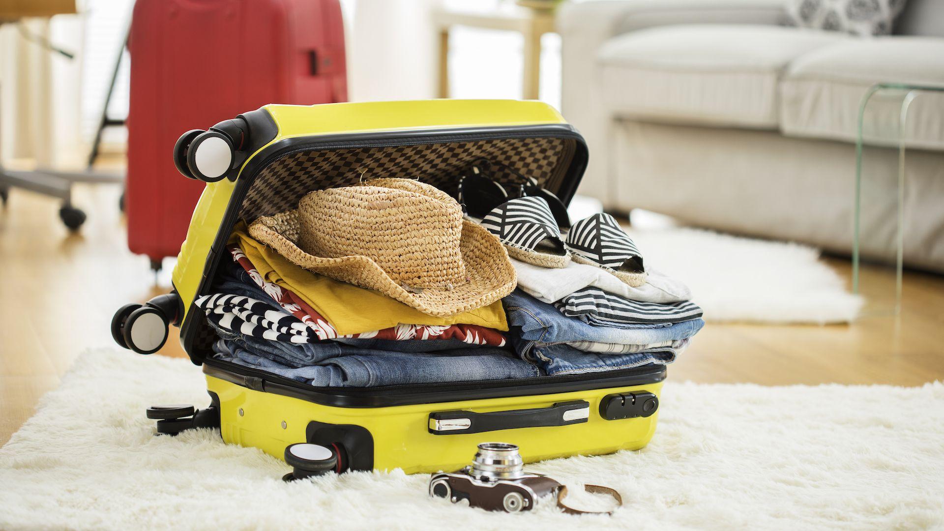 ¿Cuánto tardan los viajeros en armar sus valijas?