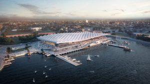Así será el impresionante nuevo mercado de pescados en Sídney: imágenes