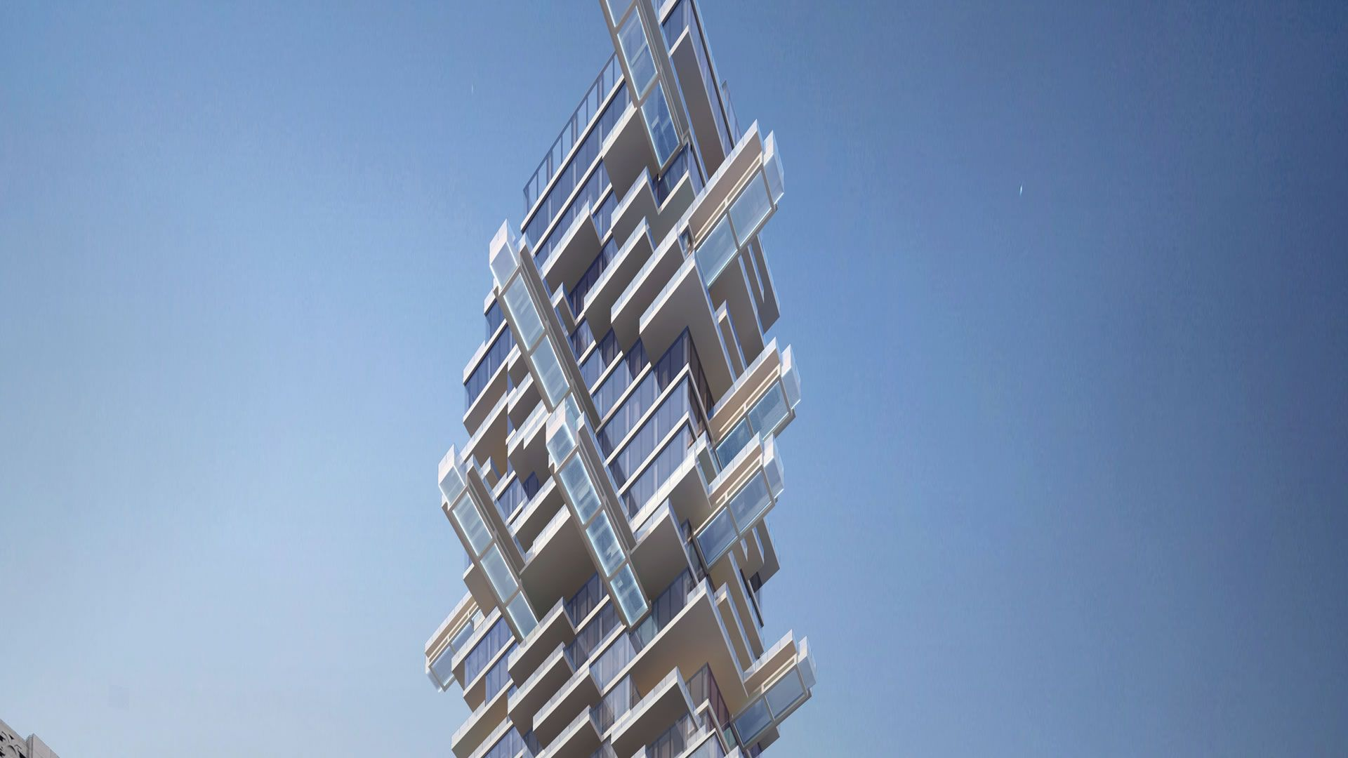 La sorprendente torre jenga que se construirá en Los Ángeles