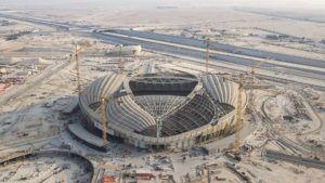 Así avanza la obra del impresionante estadio para el Mundial Qatar 2022